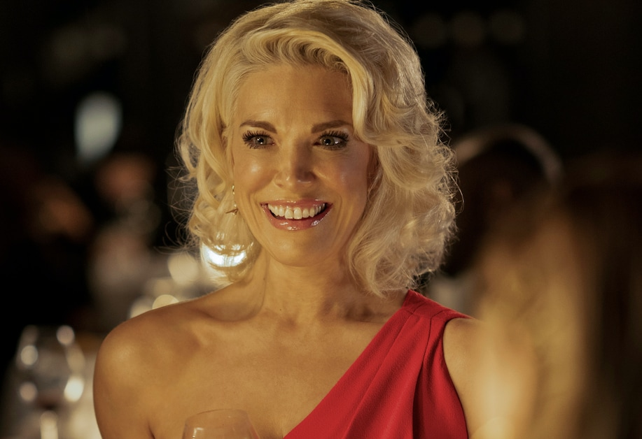 Hannah Waddingham in a still from Ted Lasso.