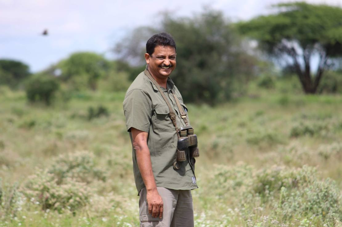 Sanjay Gubbi, 50, has written four previous books on his findings and experiences in the wild. This one, for the first time, also contains his own chilling account of surviving a leopard attack in 2016.