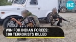 Over 100 terrorists killed by Indian forces in 2021 so far