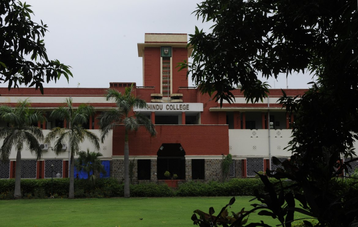 Hindu College is the alma mater of many Bollywood personalities such as filmmaker Imtiaz Ali. (Photo: Sonu Mehta/HT)