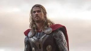 Chris Hemsworth in a still from Thor: The Dark World.