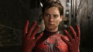 Tobey Maguire played Spider-Man in three films.