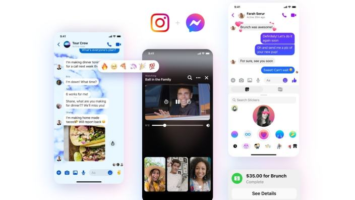 Messenger gets new chat themes, custom reactions and more.