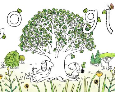 World Day 2021:Google Doodle encourages everyone,plant trees