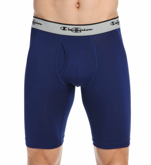 """Champion Cpu9 Tech Performance Athletic Fit 9"""" Long Boxer"""
