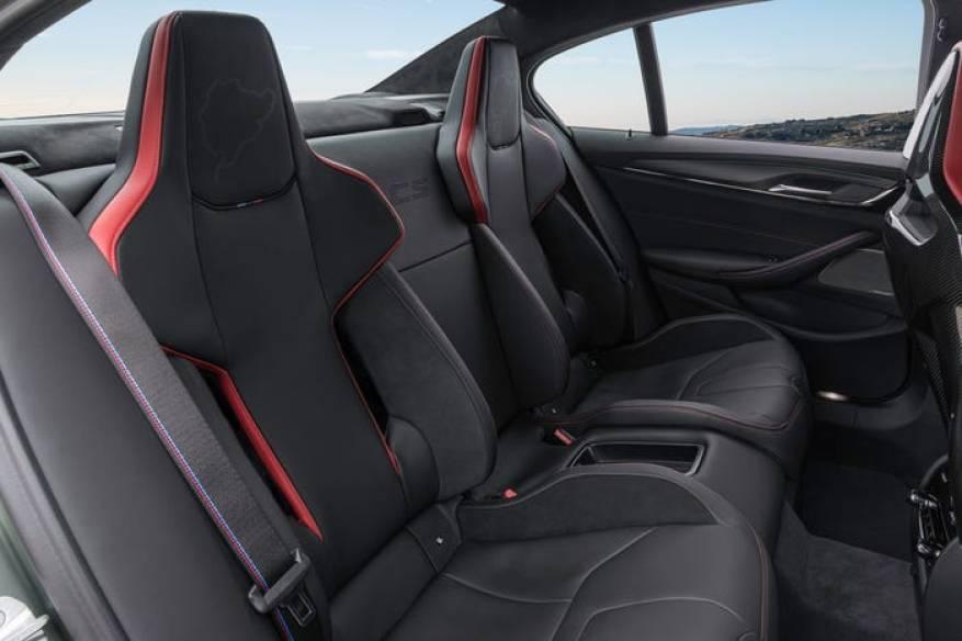 BMW M5 CS two bucket seater