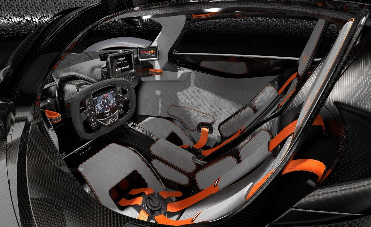 Aston Martin Valkyrie interior