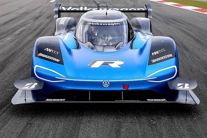 Volkswagen ID.R at Nürburgring Nordschleife circuit