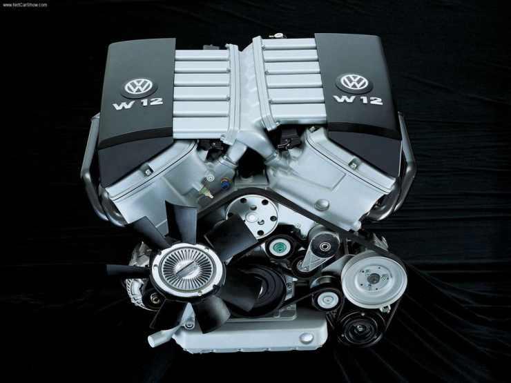 Volkswagen Nardo w12 engine