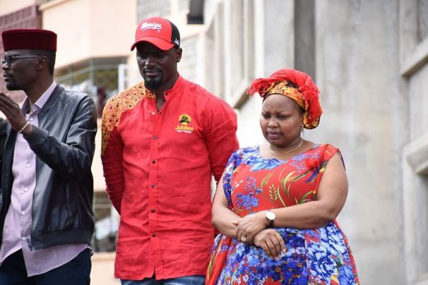 Image result for Millicent Omanga kibra Ruto campaigns
