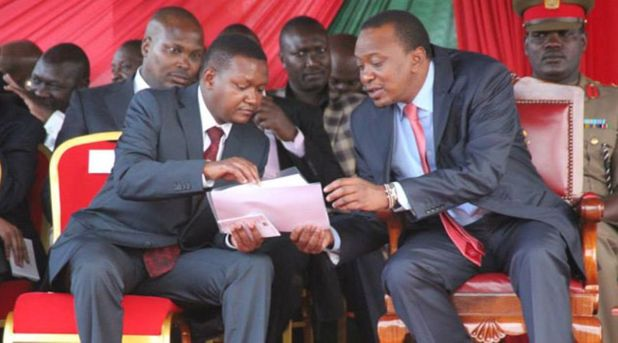 Mutua receives good news from President Uhuru Kenyatta