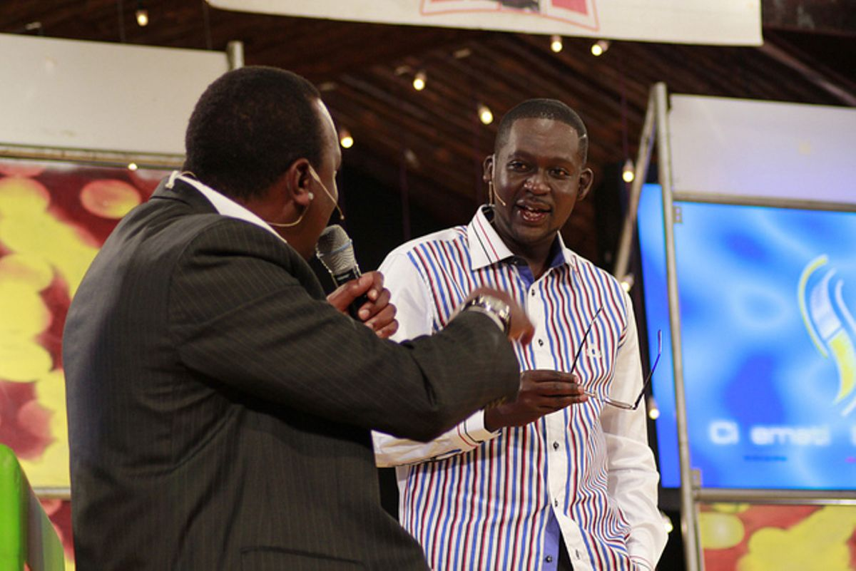 Top 5 most influential male public figures in Kenya