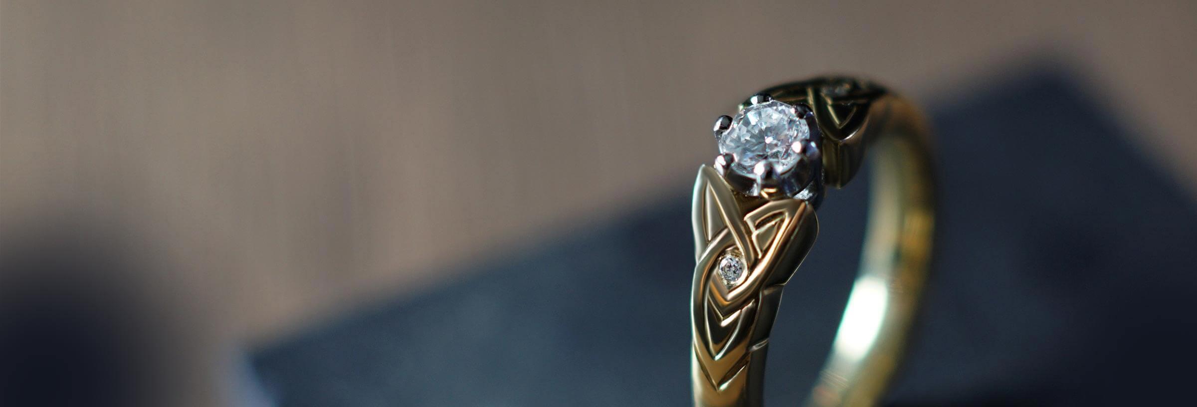 Celtic Engagement Rings  Harriet Kelsall