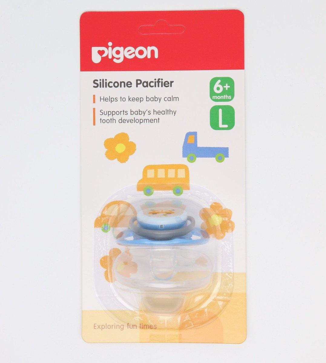 PIGEON 貝親   PIGEON貝親安撫奶嘴L碼六個月以上使用(藍色)   香港電視 HKTVmall 網上購物