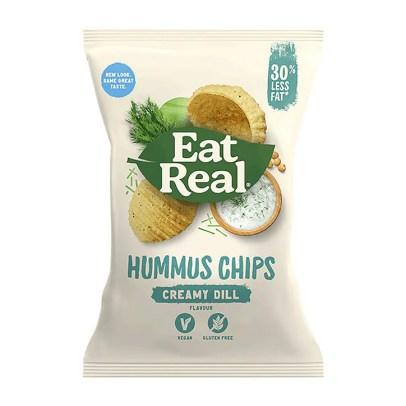 Eat Real Creamy Dill Hummus Chips | Holland & Barrett