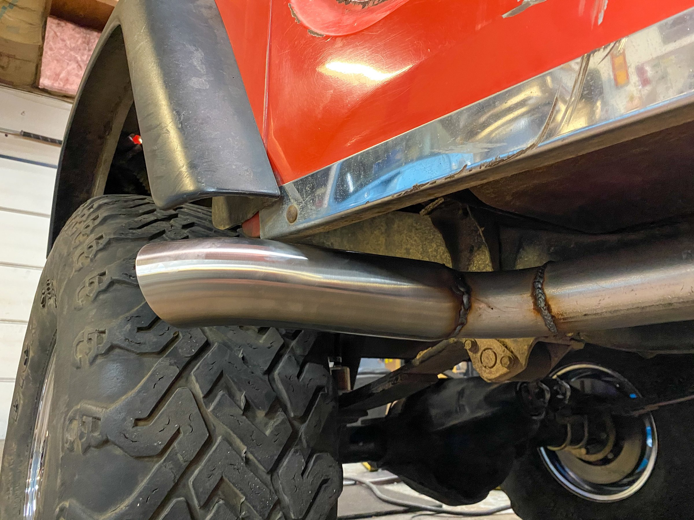 how to build a custom off road exhaust