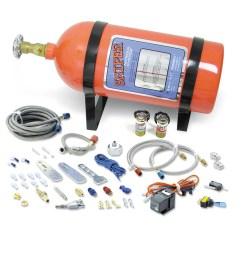 nos 07006nos nos sniper single fogger multi fit wet nitrous kit nos launcher 8 pin wire harness [ 1150 x 1150 Pixel ]