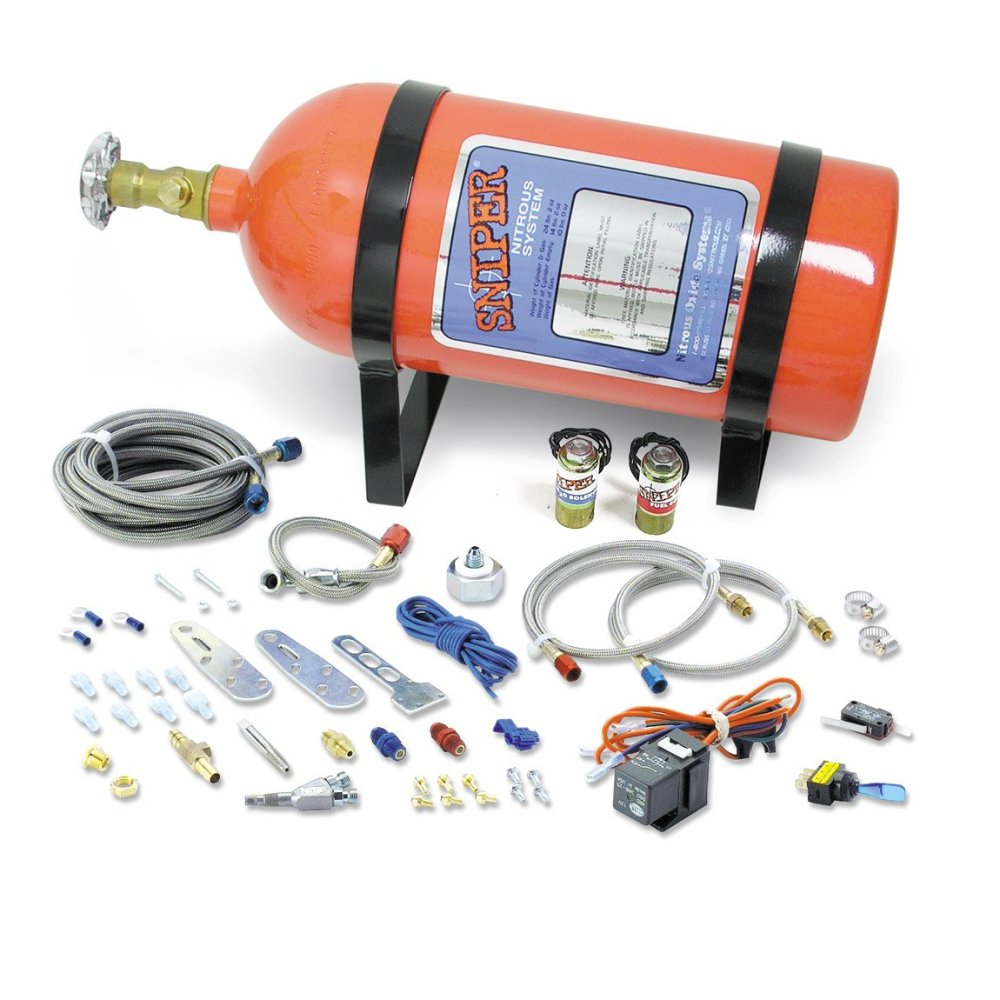 medium resolution of nos 07006nos nos sniper single fogger multi fit wet nitrous kit nos launcher 8 pin wire harness