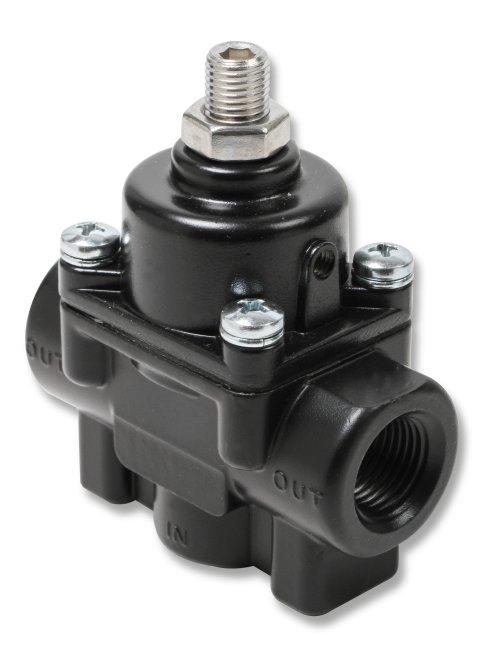 small resolution of 12850erl earls adjustable fuel pressure regulator carbureted black 1 4 psi