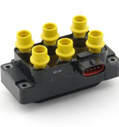 140035 ignition coil supercoil ford 6 tower edis with horizontal plug image [ 2754 x 2401 Pixel ]