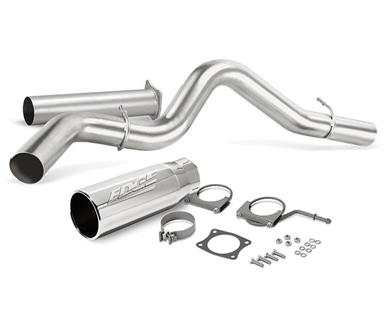 edge jammer turbo back exhaust system stainless steel