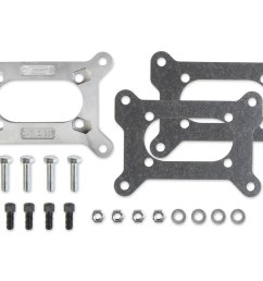1937mrg carburetor adapter kit large holley 2 barrel to small rochester 4  [ 2400 x 1877 Pixel ]
