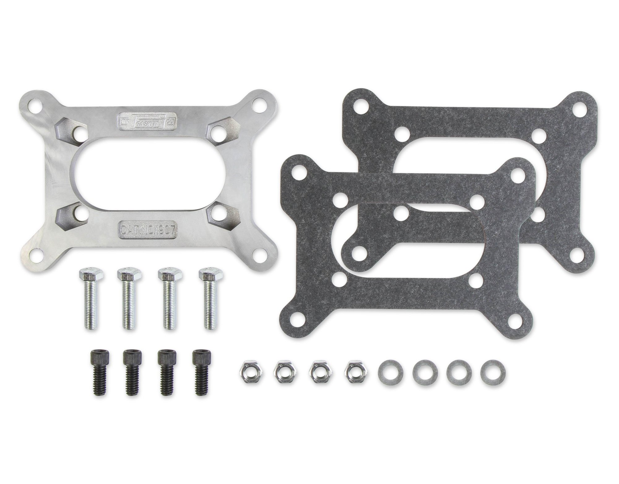 hight resolution of 1937mrg carburetor adapter kit large holley 2 barrel to small rochester 4
