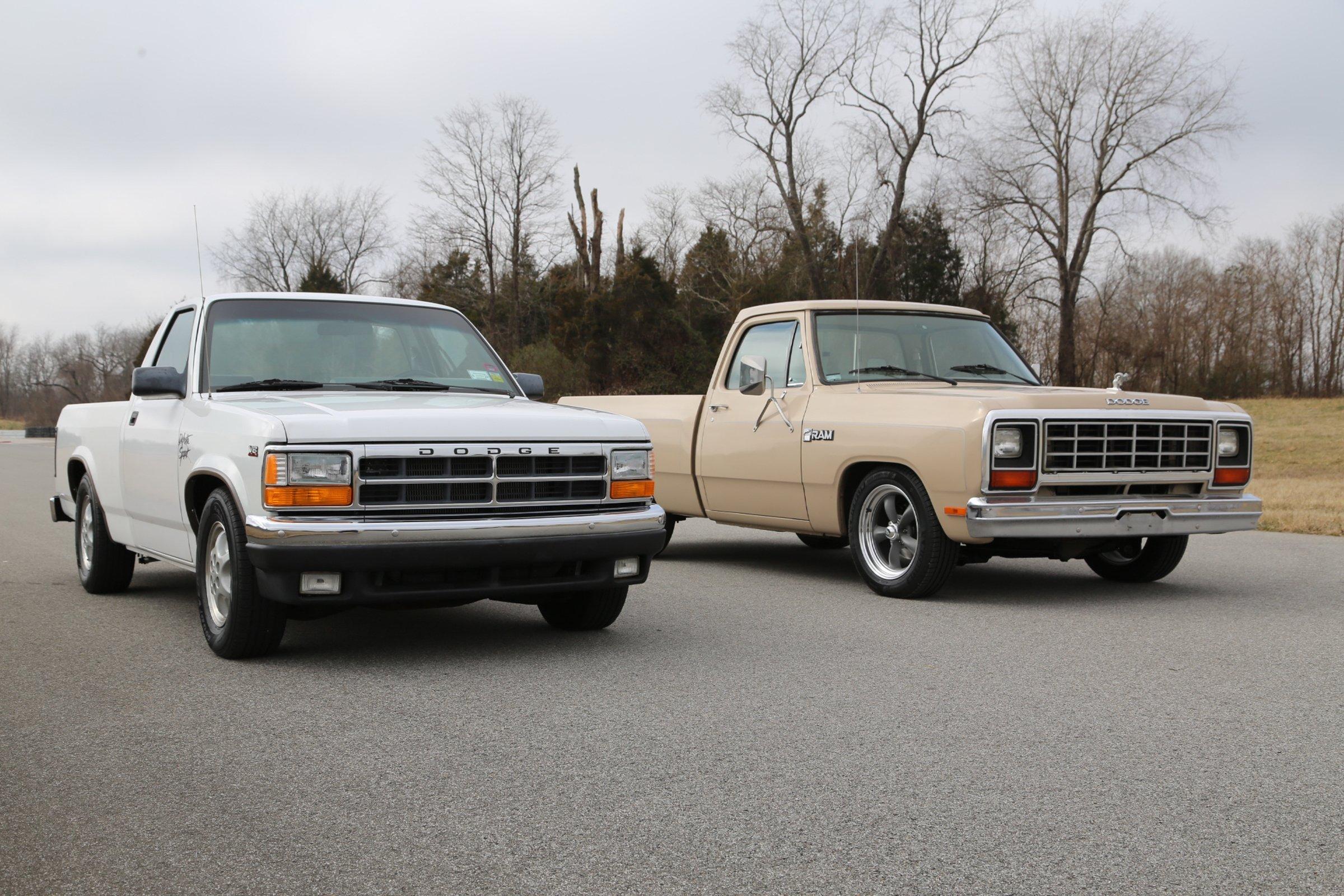 gen iii hemi powered muscle trucks