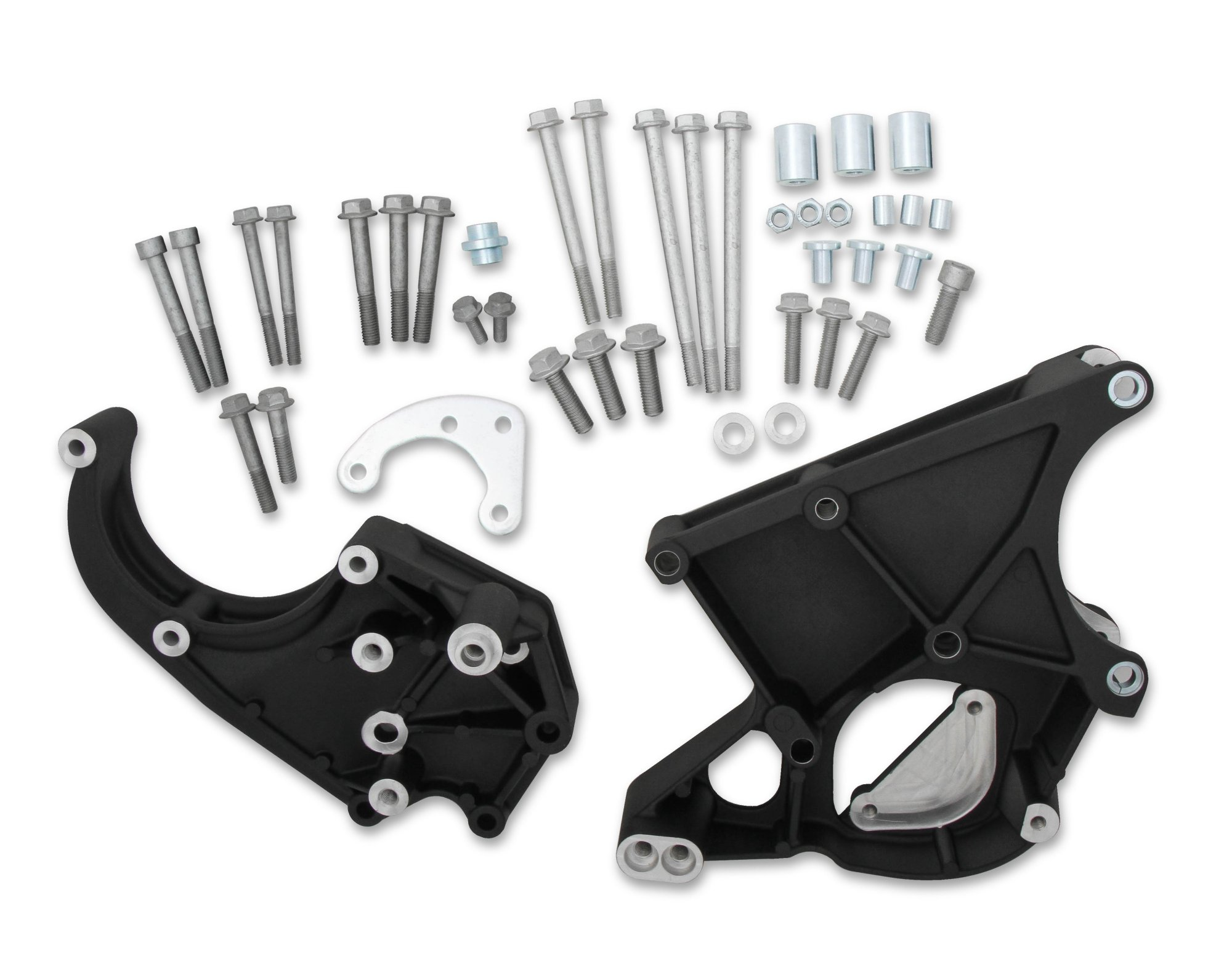 hight resolution of 20 132bk ls lt accessory drive bracket passenger s driver s side brackets