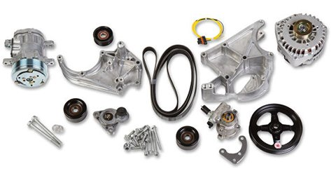 Holley 20-138 LS/LT Complete Accessory Drive Kit