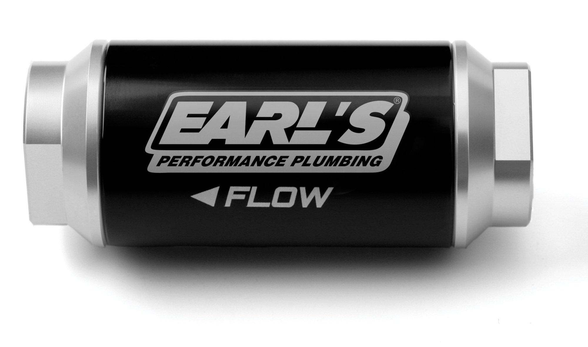 hight resolution of 230606erl earls billet fuel filter image