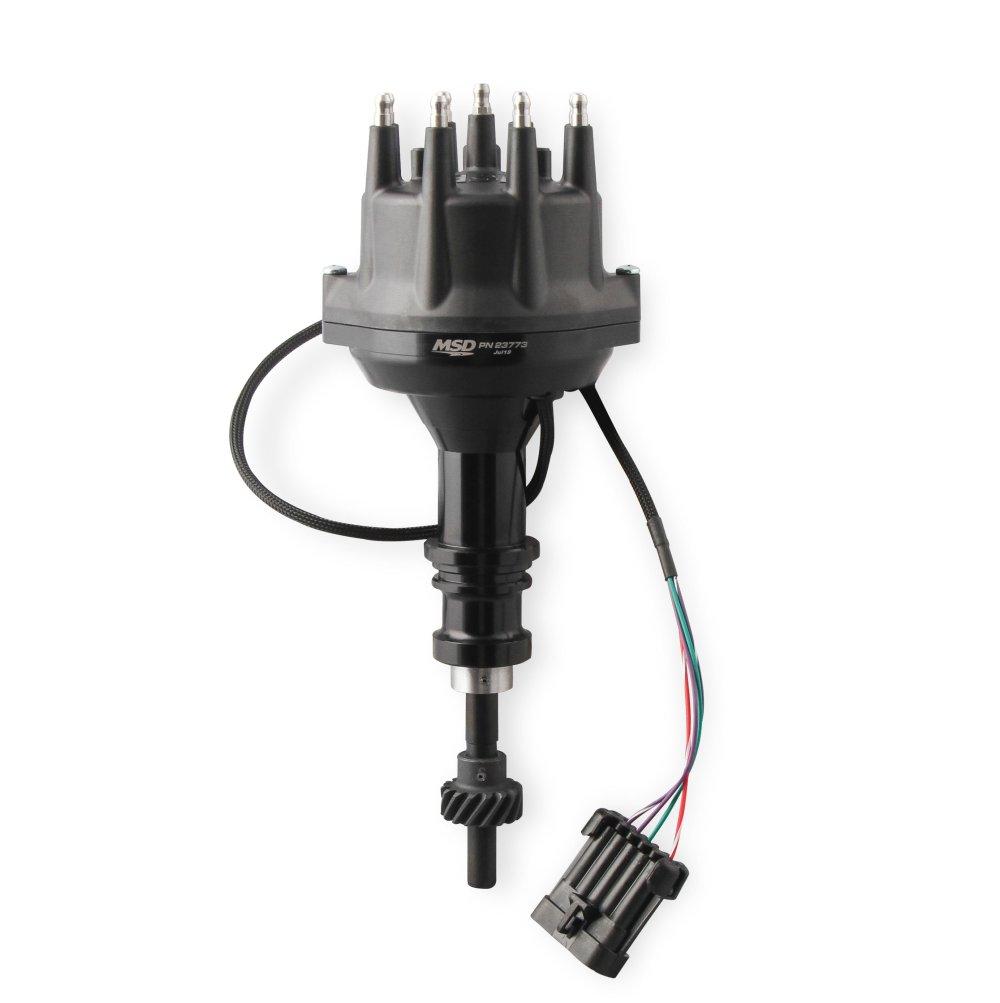 medium resolution of 23773 msd black ford 289 302 dual sync distributor image