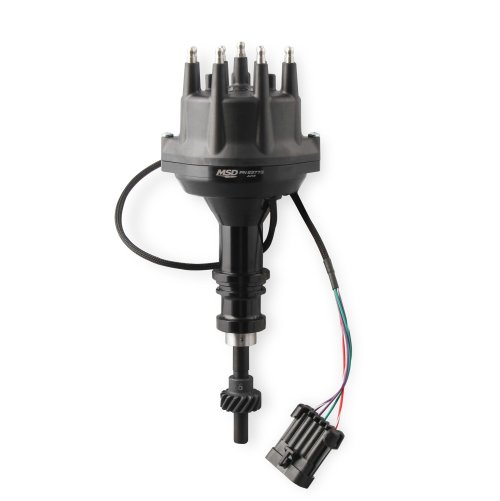 small resolution of 23773 msd black ford 289 302 dual sync distributor image