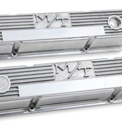 241 82 m t valve covers for chevy small block engines polished [ 4411 x 2624 Pixel ]