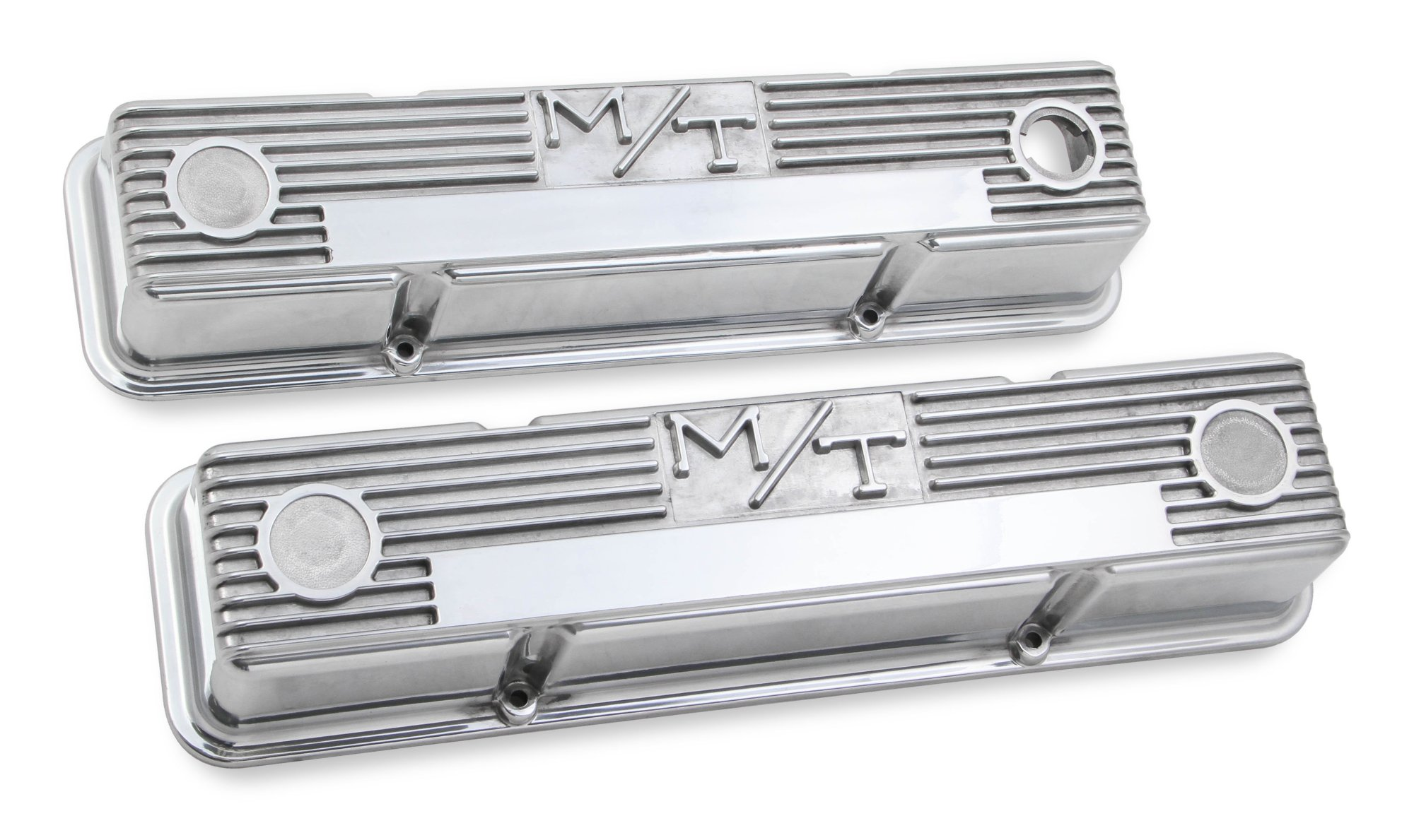 hight resolution of 241 82 m t valve covers for chevy small block engines polished