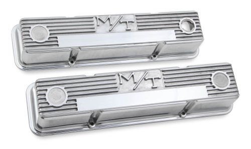 small resolution of 241 82 m t valve covers for chevy small block engines polished
