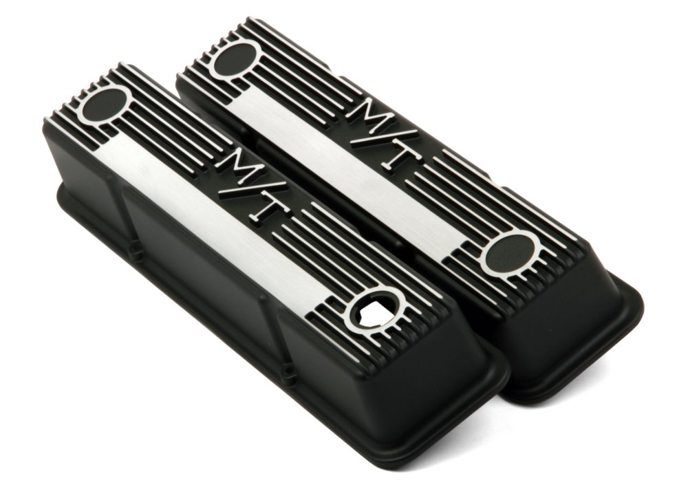 medium resolution of 241 83 m t valve covers for small block chevy engines satin