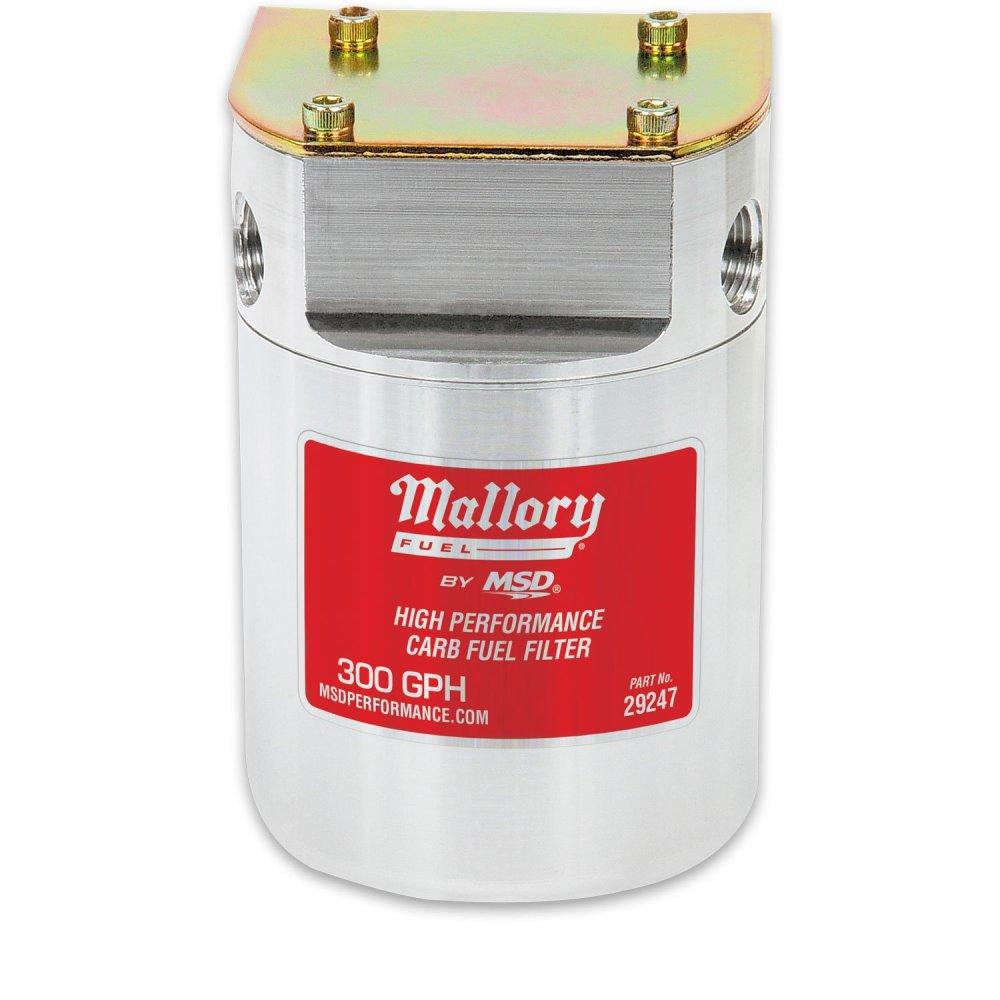 medium resolution of 29247 mallory low pressure carbureted fuel filter image