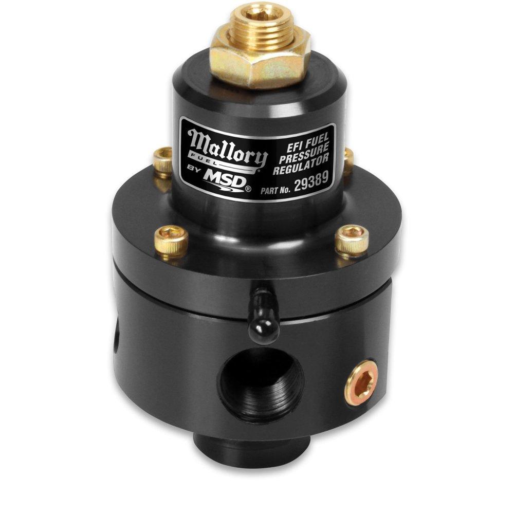 medium resolution of 29389 mallory adjustable fuel pressure regulator for efi image