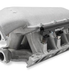 300 242 holley 351w ford hi ram efi manifold image [ 4402 x 2752 Pixel ]