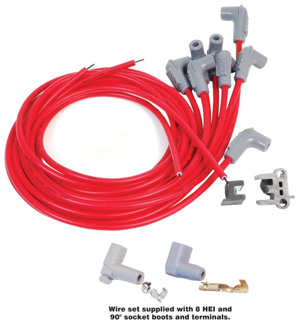 medium resolution of hei plug wires
