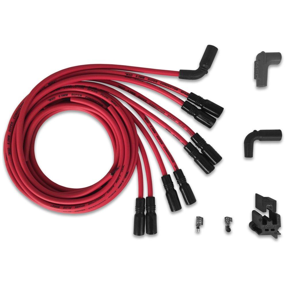 medium resolution of lt1 spark plug wire order msd 32129 super conductor spark plug wire set univ