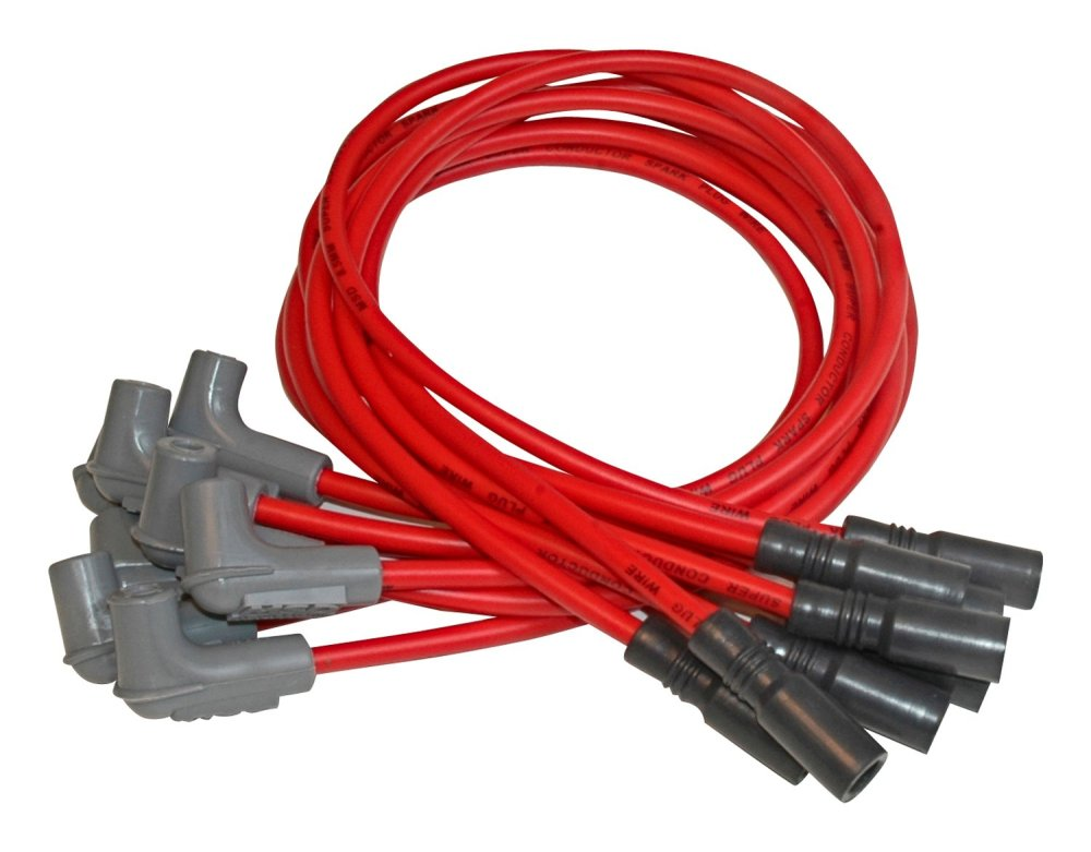 medium resolution of msd 32149 super conductor spark plug wire set lt1 camaro 93 96 lt1 optispark lt1 msd wiring