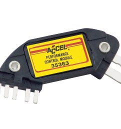 accel 35363 high performance ignition module for gm hei 7 pin rh holley com gm hei module wiring gm hei ignition information [ 2697 x 2023 Pixel ]