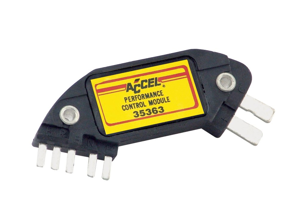 medium resolution of accel 35363 high performance ignition module for gm hei 7 pin rh holley com gm hei module wiring gm hei ignition information