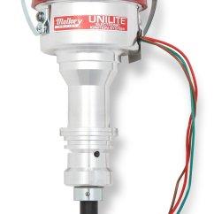 Mallory Unilite Distributor Wiring Diagram Toyota Car Alternator 3755401 69 80 Ford 351w