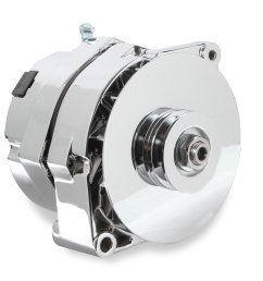 51203cg mr gasket 1 wire alternator 140 amp chrome finish image [ 2912 x 2761 Pixel ]