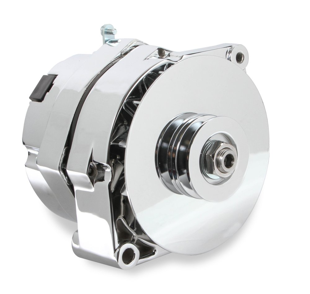 medium resolution of 51203cg mr gasket 1 wire alternator 140 amp chrome finish image