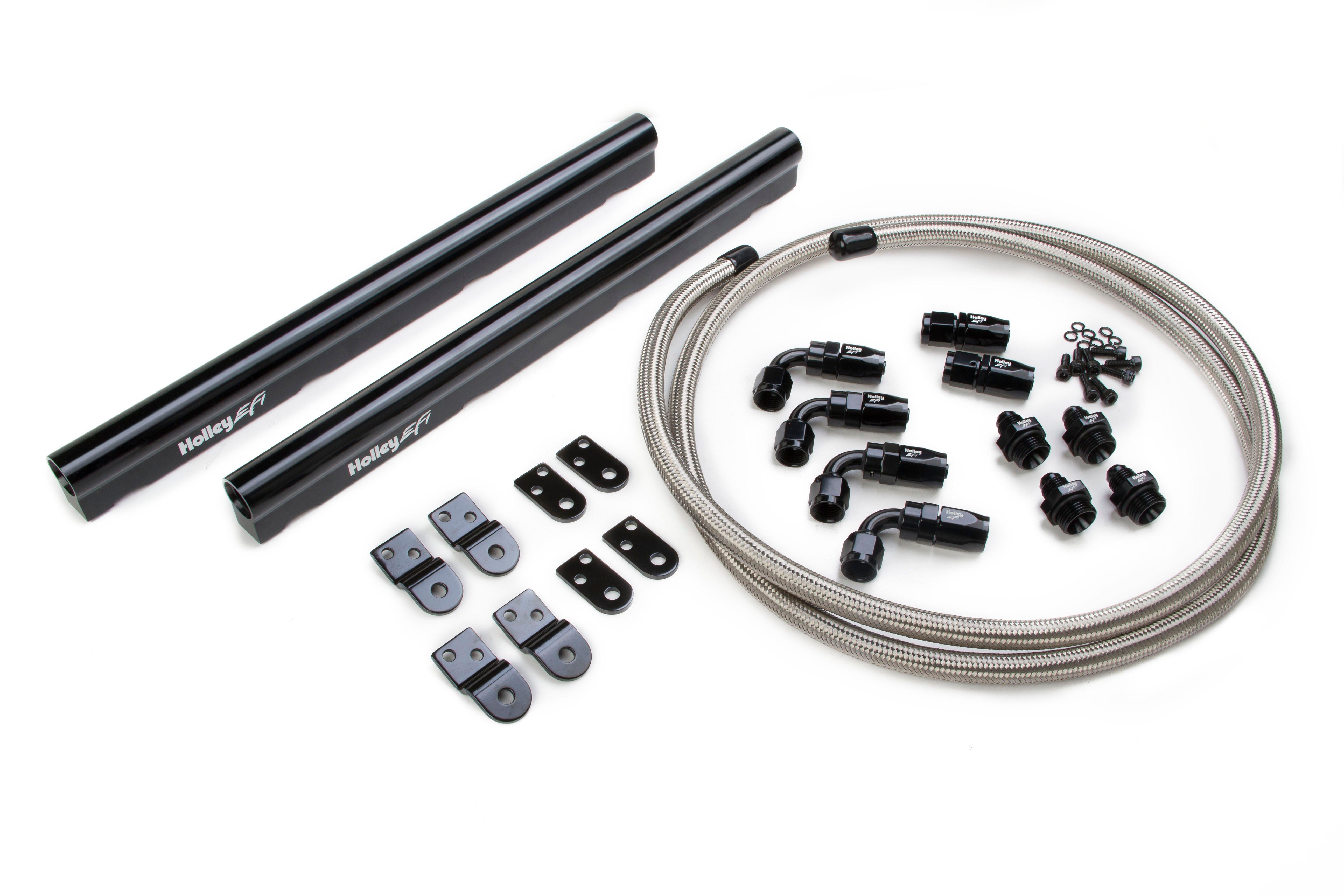 Holley Efi 534 210 Ls Hi Flow Fuel Rail Kit
