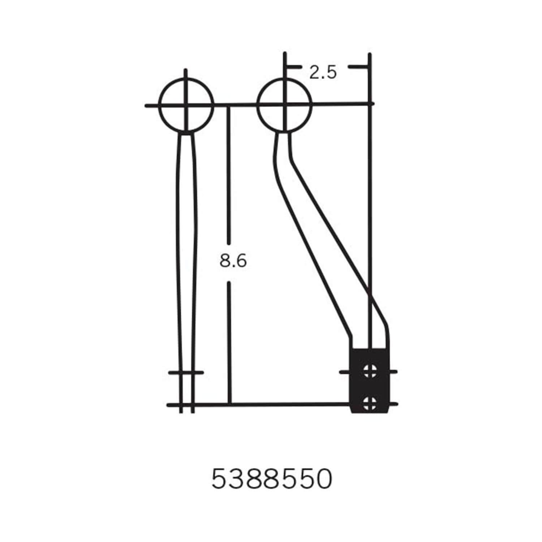 Hurst 5388550 Hurst Competition/Plus Shifter Stick